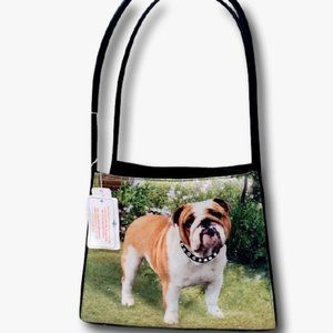 American Bulldog Purse Handbag